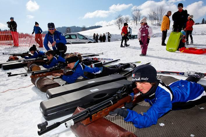 Biathlon hiver
